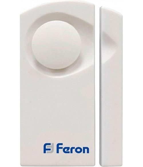 Звонок электрический дверной /сигнализация, (1 мелодия) белый, громкоcть 80dB, 007-D