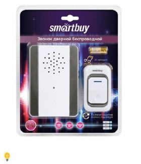 Звонок дверной беспроводной с цифр. код., IP44, подсветкой, рег-кой громкости звука (SBE-11-DP7-25)