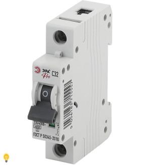 Автоматический выключатель ВА47-63 1P 32А кривая C ЭРА NO-901-49