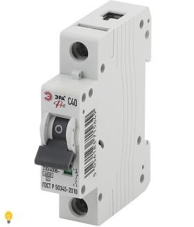Автоматический выключатель ВА47-63 1P 40А кривая C ЭРА NO-901-58