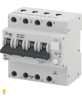 АВДТ 63 3P+N C16 30мА тип A ЭРА NO-901-96