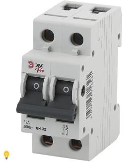 Выключатель нагрузки ВН-32 2P 32A ЭРА NO-902-92