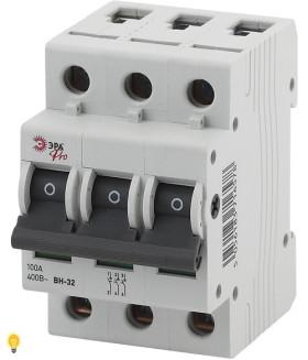 Выключатель нагрузки ВН-32 3P 100A ЭРА NO-902-93