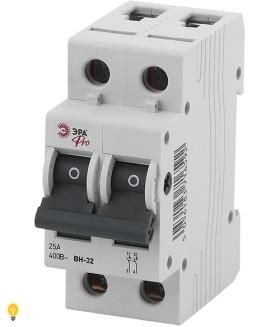 Выключатель нагрузки ВН-32 2P 25A ЭРА NO-902-95