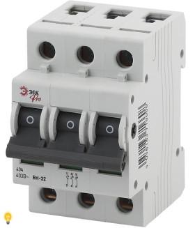 Выключатель нагрузки ВН-32 3P 40A ЭРА NO-902-96
