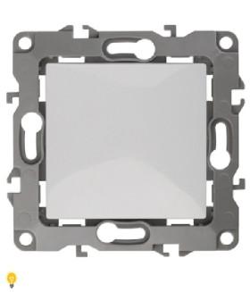 Выключатель, 10АХ-250В, Эра12, белый 12-1101-01