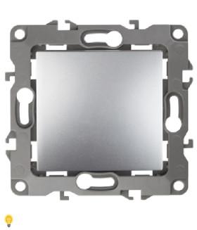 Выключатель, 10АХ-250В, Эра12, алюминий 12-1101-03