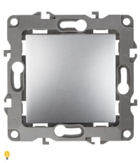 Переключатель, 10АХ-250В, Эра12, алюминий 12-1103-03