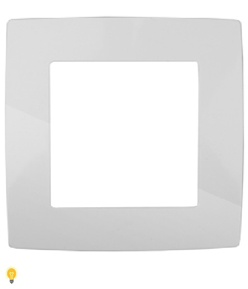 Рамка на 1 пост, Эра12, белый 12-5001-01