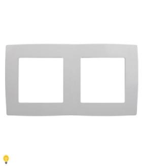 Рамка на 2 поста, Эра12, белый 12-5002-01