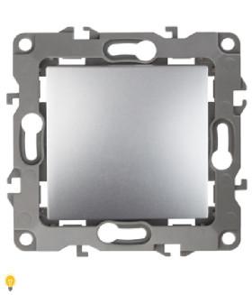Переключатель промежуточный, 10АХ-250В, Эра12, алюминий 12-1108-03