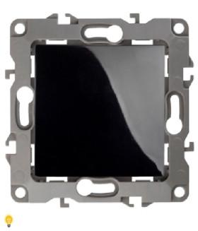 Переключатель промежуточный, 10АХ-250В, Эра12, чёрный 12-1108-06