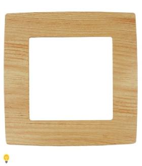 Рамка на 1 пост, Эра12, сосна 12-5001-11