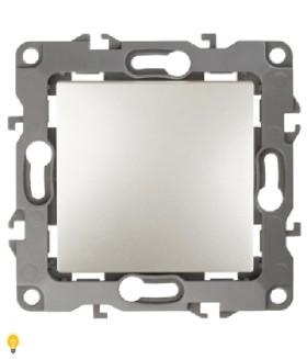 Выключатель, 10АХ-250В, без м.лапок, Эра12, перламутр 12-1001-15 ЭРА