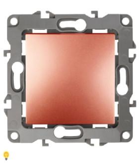 Выключатель, 10АХ-250В, Эра12, медь 12-1101-14 ЭРА