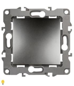 Переключатель, 10АХ-250В, Эра12, графит 12-1103-12
