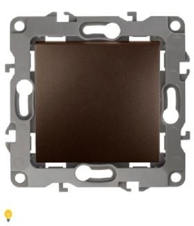 Переключатель, 10АХ-250В, Эра12, бронза 12-1103-13