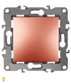 Переключатель, 10АХ-250В, Эра12, медь 12-1103-14