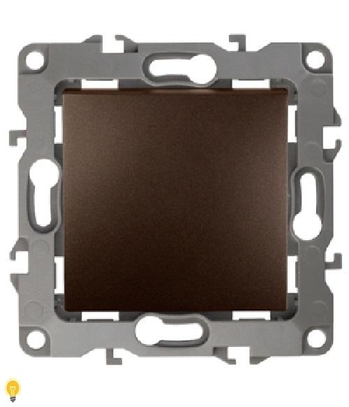 Переключатель промежуточный, 10АХ-250В, Эра12, бронза 12-1108-13