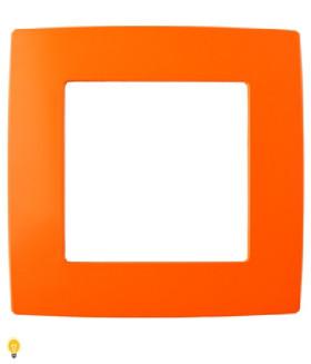 Рамка на 1 пост, Эра12, оранжевый 12-5001-22