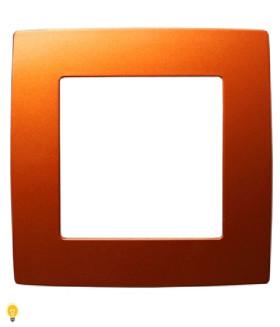 Рамка на 1 пост, Эра12, охра 12-5001-24