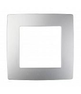 Рамка на 1 пост, Эра Elegance, алюминий 14-5001-03