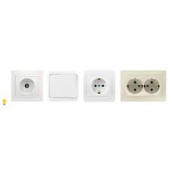 Выключатели и розетки Smartbuy