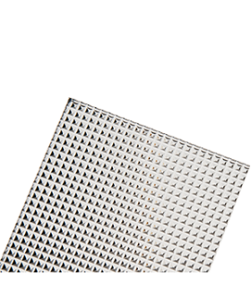 Рассеиватель микропризма для гипсокартон 590*175*65 мм (577*160 мм)