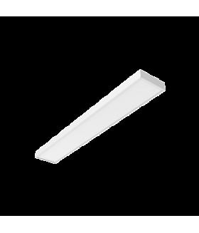 """Светодиодный светильник """"ВАРТОН"""" офисный встраиваемый/накладной 1195*180*50мм 36 ВТ 3000К"""