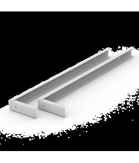 Кронштейн 600 мм для крепления светильника для школьных досок (с набором крепежей)