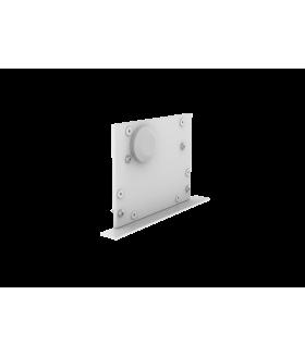 Крышка торцевая с гермовводом с набором креплений для светильников серии G-Лайн белая