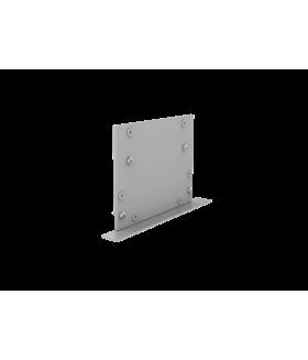 Крышка торцевая глухая с набором креплений для светильников серии G-Лайн серая