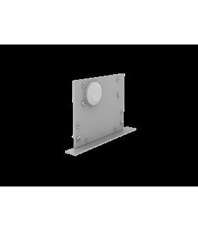 Крышка торцевая с гермовводом с набором креплений для светильников серии G-Лайн серая