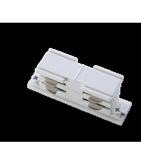 Соединитель внутренний I-образый белый (соединение 2х шинопроводов в прямую линию)