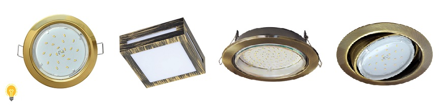 Светодиодные светильники Ecola