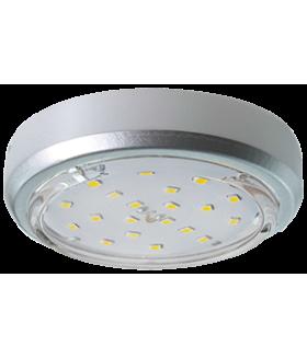 Ecola GX53 5356 Накладной Легкий Серебро (светильник) 18x95