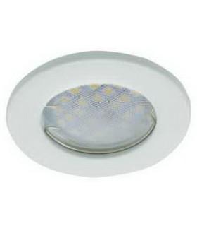 Ecola Light MR16 DL90 GU5.3 Светильник встр. плоский Белый 30x80 (кd74)