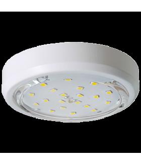 Ecola GX53 5356 Накладной Легкий Белый (светильник) 18x95