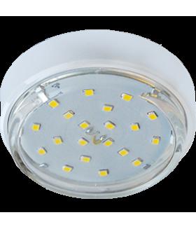 Ecola GX53 DGX5318 Накладной Легкий Белый (светильник) 18x88