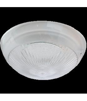 "Ecola Light GX53 LED ДПП 03-60-1 светильник ""Сириус"" Круг накладной IP65 1*GX53 прозрачный белый 220х220х100"