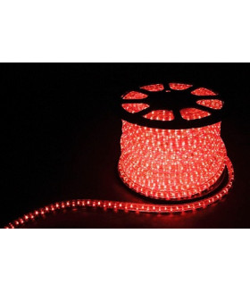 Дюралайт (световая нить) со светодиодами, 2W 100м 230V 36LED/м 13мм, красный, LED-R2W