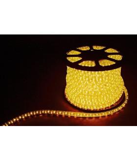 Дюралайт (световая нить) со светодиодами, 2W 100м 230V 36LED/м 13мм, желтый, LED-R2W