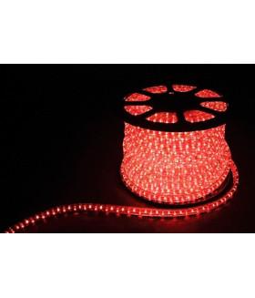 Дюралайт (световая нить) со светодиодами, 3W 50м 230V 72LED/м 11х17мм, красный, LED-F3W