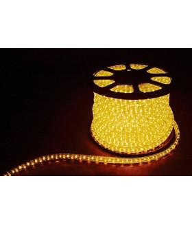 Дюралайт (световая нить) со светодиодами, 3W 50м 230V 72LED/м 11х17мм, желтый, LED-F3W