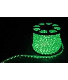 Дюралайт (световая нить) со светодиодами, 3W 50м 230V 72LED/м 11х17мм, зеленый, LED-F3W