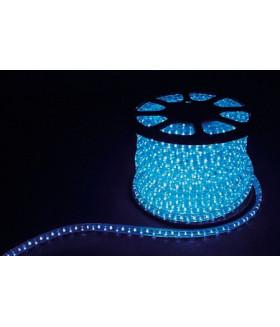 Дюралайт (световая нить) со светодиодами, 3W 50м 230V 72LED/м 11х17мм, синий, LED-F3W