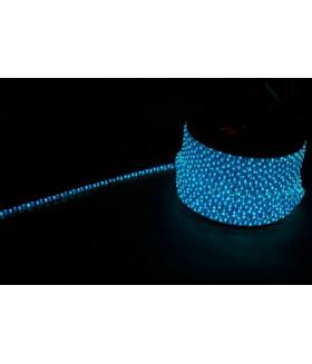 Дюралайт (световая нить) со светодиодами, 3W 50м 230V 72LED/м 11х17мм, синий-белый, LED-F3W