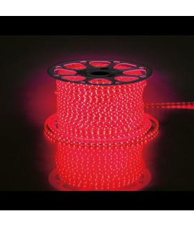 Лента светодиодная, 60SMD(2835)/m 4.4W/m 230V IP65 100m, красный, LS704