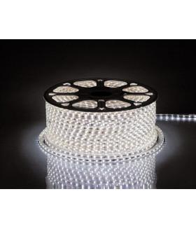 Лента светодиодная, 60SMD(2835)/m 4.4W/m 230V IP65 100m, 6400K , LS704