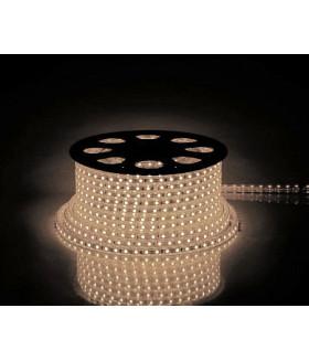 Лента светодиодная, 60SMD(2835)/m 4.4W/m 230V IP65 100m, 2700К , LS704